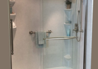 Walk In Shower With Grab Bar